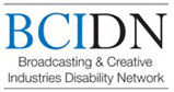 Broadcasting and Creative Industries Disability Network logo